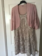 Phase Eight Beautiful Dress Size 18 And Jacket Size 16 Wedding Or Occasion