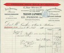 1911+argenterie+Maison Laporte+cristaux+porcelaines+tentes-marquises+luminaire