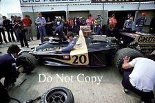 Jody Scheckter Wolf WR1 British Grand Prix 1977 Photograph 2