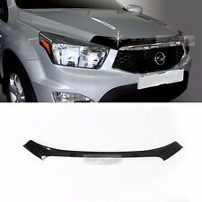 San Front Hood Guard Bug Shield Molding For SSANGYONG 2014 - 2017 Actyon Sports
