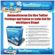 WEBSITE Webprojekt : Twitter Scheduller Buzz Tool + MRR + MiniSite VERKAUFSSEITE