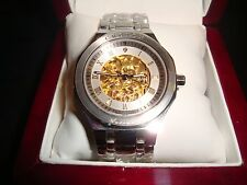 Mens Croton Automatic Stainless Steel Sapphire Crystal Japan Movement Watch