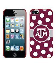 NEW Texas A&M Aggies Polka Dot Case for iPhone 5/5S, Texas Pride / Team Spirit!