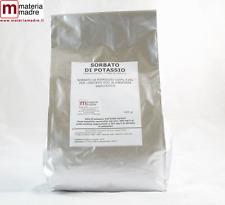 POTASSIO SORBATO E202 Kg 1 antifermantativo conservante NO OGM Potassium sorbate