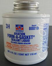 Permatex 80019 Aviation Form-A-Gasket Sealant Liquid 4 oz