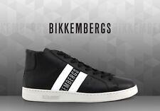 Dirk Bikkembergs Hi Top Mid Bounce Trainers UK 9 EU 43 BNIB Black/White RRP £215