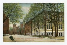 College Place, showing Valparaiso University Buildings in Indiana Color Postcard