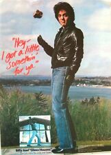 BILLY JOEL 1980 original POSTER ADVERT GLASS HOUSES