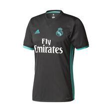 Maglia Calcio Shirt Football adidas Real Madrid Nera Away 2017/2018 Liga Patch