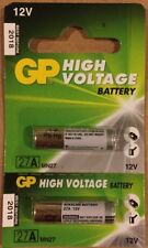 Pack of 2 GP 27A MN27 12V High Voltage Batteries- Use by 2018- USA SELLER