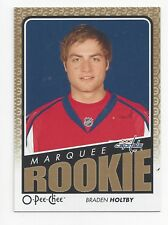 2009-10 O-Pee-Chee Update #785 Braden Holtby RC