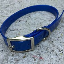 "US Stock: Blue 3/4"" * 21 ""  Dog Collar Strap for Garmin Delta Sport  XC Upland"