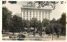 c1920 Hotel Utah from Temple Grounds, Salt Lake, UT Real Photo Postcard/RPPC