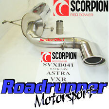 Scorpion Stainless Back Box Astra VXR MK5 2.0 Turbo 05-10 Rear Silencer Exhaust