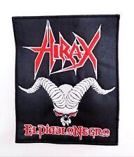HIRAX   ( El diablo negro) EMBROIDERED  PATCH