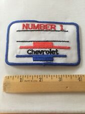 Chevrolet Patch Embroidered , Vintage Chevy Patch