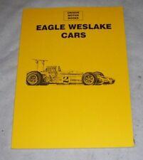 Eagle-Weslake Coches. 1966-1980 artículo de la revista reimpresión libro CP Press