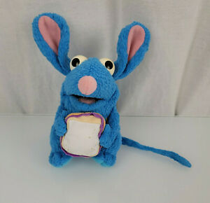 """Bear in the Big Blue House Tutter Mouse Plush 7"""" Sandwich Bread Fisher Price"""