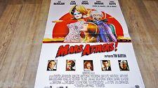 tim burton MARS ATTACKS !  affiche cinema