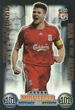 Liverpool Football Trading Cards 2007-2008 Season