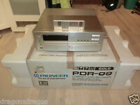 Pioneer PDR-09 High-End CD-Recorder in OVP, inkl. FB, ultra rare, 2J. Garantie