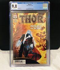 Thor #6 CGC 9.8 comic 2020 , marvel , death of Galactus