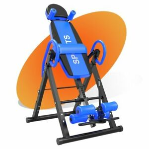 Premium Gravity Inversion Table Back Therapy Fitness Back Pain Relief Adjustable