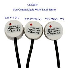 US Non-Contact Liquid Water Level Sensor Induction Switch Detector Y25-V/Y25-PNP