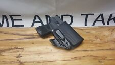 Fits SIG P320 Sub Compact Kydex Appendix IWB Holster ** Ready to Ship**BLK**S/C
