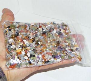 2000 x Mixed XXSmall Polished Mini Chip Tumblestones A Grade Crystal 3mm-5mm