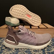 Adidas UltraBoost 19 Women's Running Shoes 6.5 Purple/ White G27490 Boost New