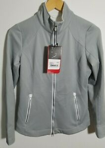 1 NWT WOMEN'S ZERO RESTRICTION JACKET, SIZE: SMALL, COLOR: SILVER (J301)