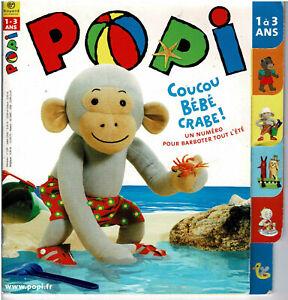 POPI  N° 239 * crêperie , bord de mer plage pêche jeux * jeune enfant 18 mois
