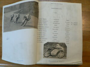 MOTO GP BELGIUM FRANCORCHAMPS  SCRAPBOOK WITH PICTURES AND RESULTS 1949-1978 AGO