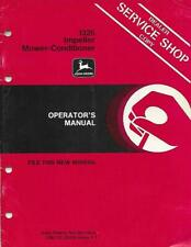 JOHN DEERE 1326 IMPELLER MOWER-CONDITIONER OPERATORS MANUAL