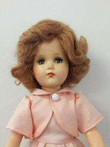 "Vintage Arranbee/R&B NANETTE 17"" Composition Doll w/New Mid-Century Style Dress"