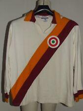 Soccer Jersey Trikot Maillot Camiseta Roma Long Sleeve Toffs Remake Size M