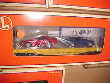 LIONEL,,,,# 17527,,,,,,FLATCAR WITH 2 DODGE VIPERS