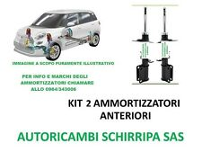 KIT 2 AMMORTIZZATORI ANTERIORI FIAT GRANDE PUNTO OPEL CORSA D ALFA ROMEO MITO