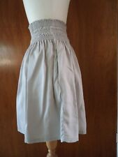 Zara Grey Skirt Elasticated Waist Size S Excellent Condition Size S