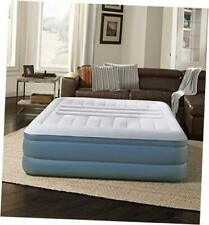 Lumbar Lux Express Adjustable Tri-Zone Support Air Bed Mattress with Built-in
