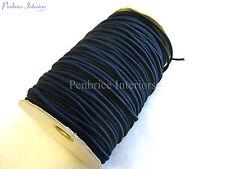 150mts de Marine bleu 3mm Sandow Chemise à élastiques à cordes Élastique