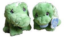 "Precious Moments CHOMPY GATOR & ZIPPY TURTLE 8.5"" Stuffed Animal Plush by Aurora"
