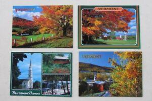 8 Brand New Postcards - Vermont, USA - Brattleboro, Vermont