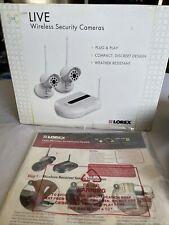 Lorex Lw1002W Wireless Security 2 Camera System Indoor Outdoor Wifi friendly