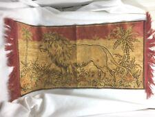 Vintage Lion Tapestry Rug