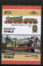 Funafuti - Tuvalu 1986 Railway Heritage Train 40c Series 4 MNH UMM