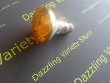 5 x YELLOW OSRAM Concentra 60 R80 60W E27 ES 80 Degree Reflector Lamp 240V UK