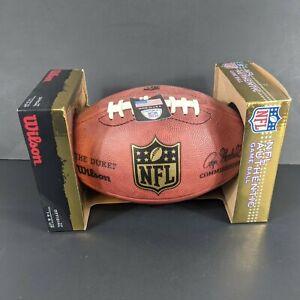 Official Wilson NFL The Duke Football Game Ball Sign Al Harris #31 Packers Rams