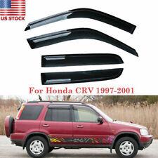 For Honda Cr-V Crv 1997 1998 1999 2000 2001 Window Visors Rain Guard Shade Trim (Fits: Honda)